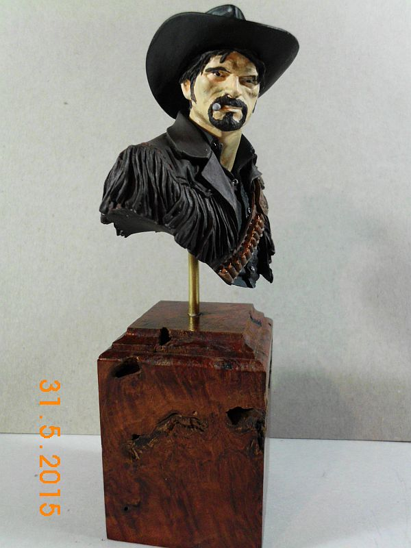 "Young Miniatures YH 1835 ""Wild West"" - Resin Büste 1/10 - Fertig B410"