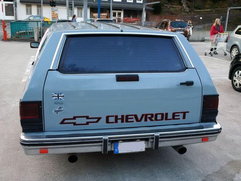 "Chevrolet Caprice - Wagon 1980 - auf dem Parkplatz ""schnappgeschossen"" C310"
