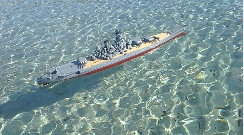 YAMATO 1/200 en Mer - Page 3 Yamato16