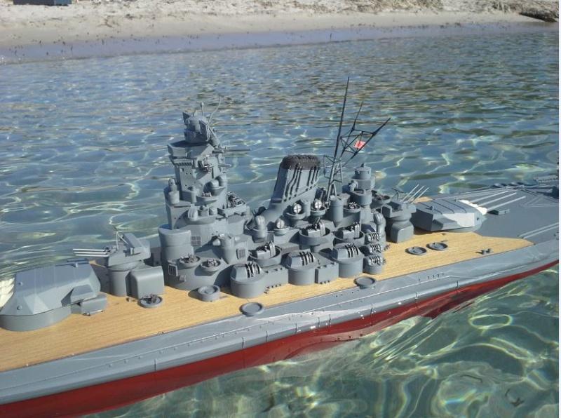 YAMATO 1/200 en Mer - Page 3 Yamato23