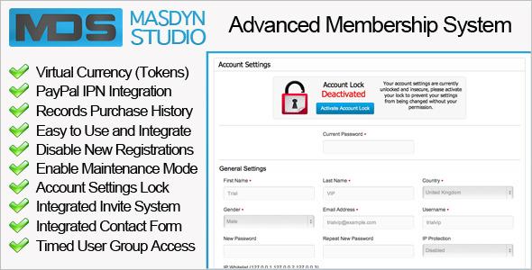 codecanyon - advanced member system Codeca10