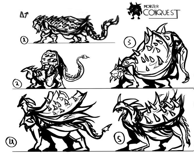 IM Challenge #7 : Monstres Concep15