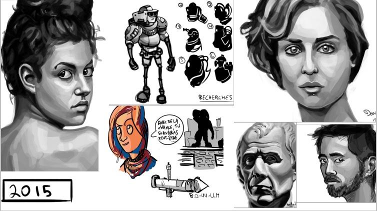 [inspi] Timeline - vos vieux dessins - Page 3 Timeli12