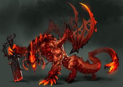 Raven Kurohi, le démon aux flammes noirs F10