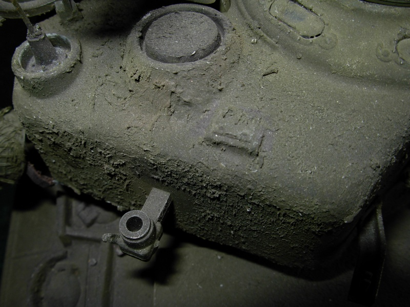 Sherman M4  105 mm Tamiya - Restyling totale Dscn0025