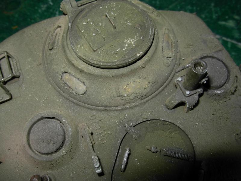 Sherman M4  105 mm Tamiya - Restyling totale Dscn0026