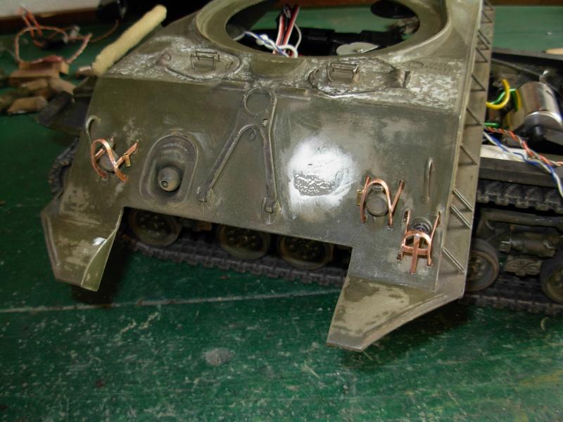 Sherman M4  105 mm Tamiya - Restyling totale Dscn0030