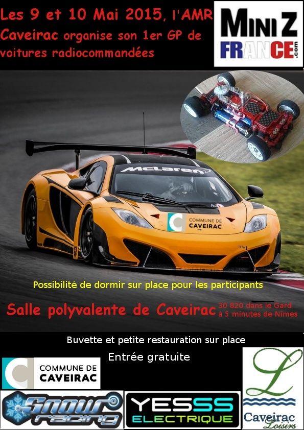 9 et 10 Mai 2015 - AMR Caveirac (30) - 1er Grand Prix 2015 Affich10