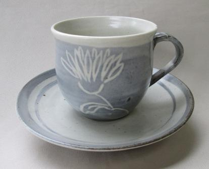 Cup & Saucer with BL could be made by Brenda Lee Thomas Bl_mug10