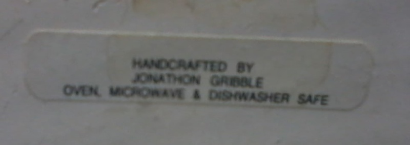 Jonathon Gribble - ELBIRG Pottery Gribbl18