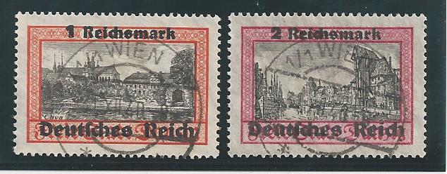 Österreichische Briefmarken im III. Reich Bild11