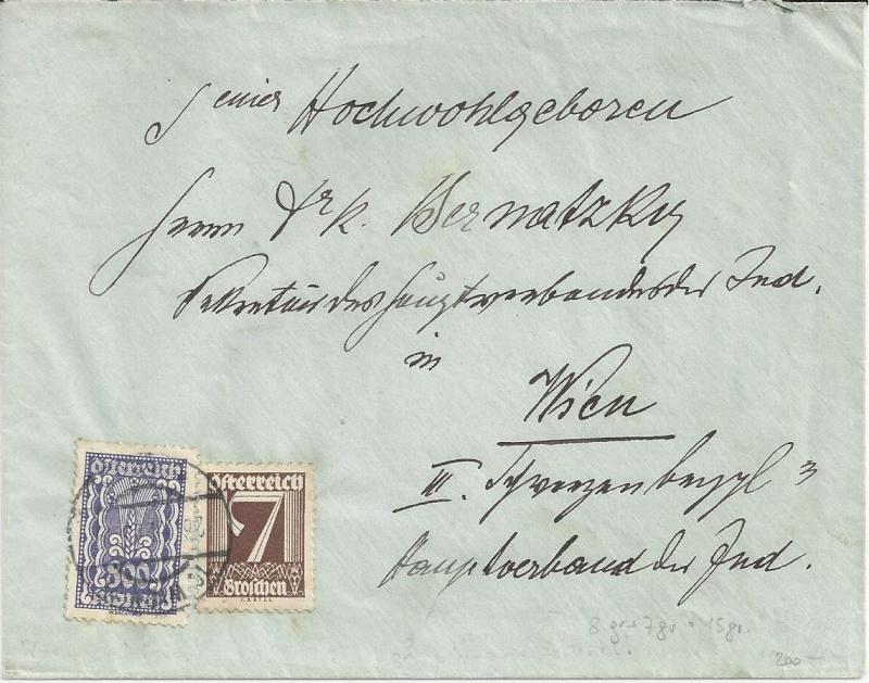 Inflation in Österreich - Belege - 1918 bis 1925 - Seite 4 Bild15