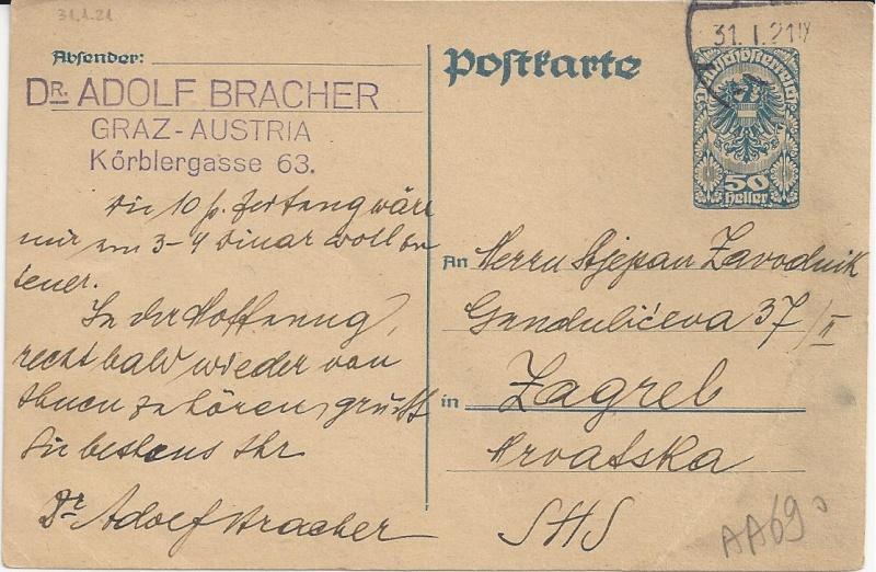 Inflation in Österreich - Belege - 1918 bis 1925 - Seite 4 Bild36