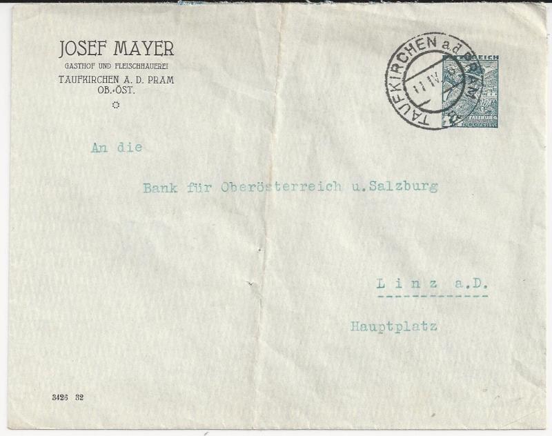 Bedarfspost Ganzsachen Österreich 1925-1938 Bild37