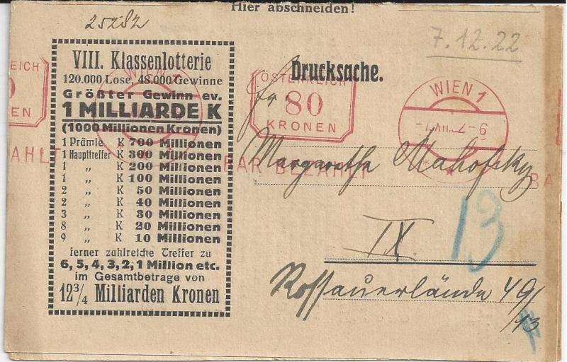 Inflation in Österreich - Belege - 1918 bis 1925 - Seite 4 Bild43