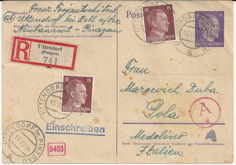 Österreich im III. Reich (Ostmark) Belege - Seite 5 Bild45