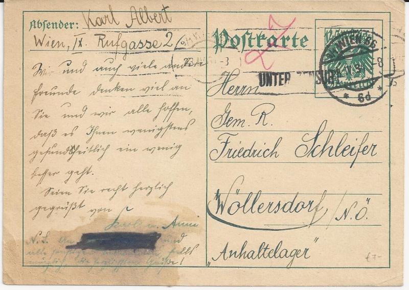 Bedarfspost Ganzsachen Österreich 1925-1938 Bild51