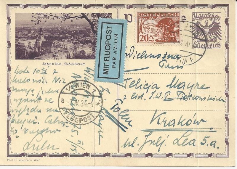Bedarfspost Ganzsachen Österreich 1925-1938 Bild_115