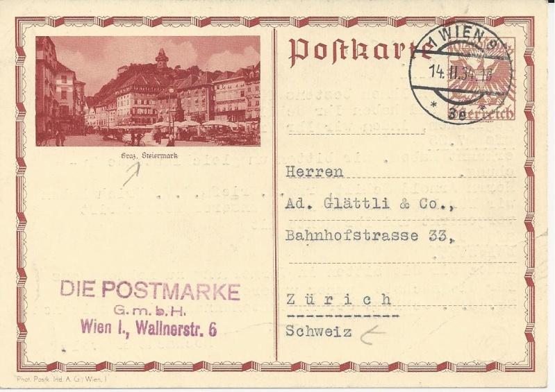 Bedarfspost Ganzsachen Österreich 1925-1938 Bild_116