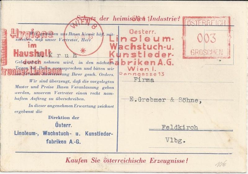 Werbeumschläge und -karten aus Österreich - Seite 2 Bild_218