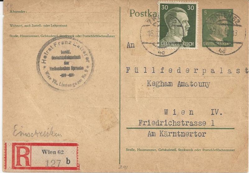 Österreich im III. Reich (Ostmark) Belege - Seite 5 Bild_231