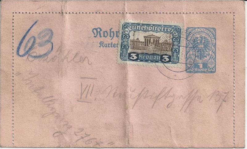 Inflation in Österreich - Belege - 1918 bis 1925 - Seite 4 Bild_315
