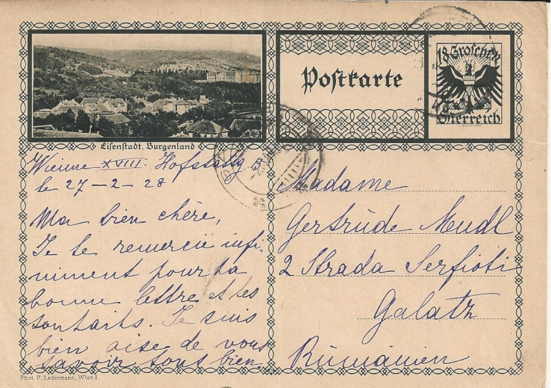 Bedarfspost Ganzsachen Österreich 1925-1938 Bild_329