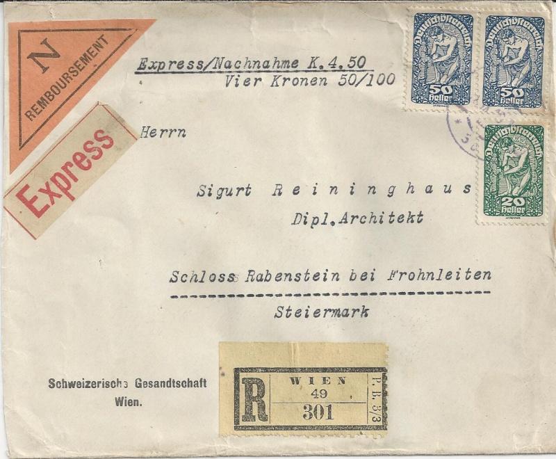 Inflation in Österreich - Belege - 1918 bis 1925 - Seite 4 Bild_413