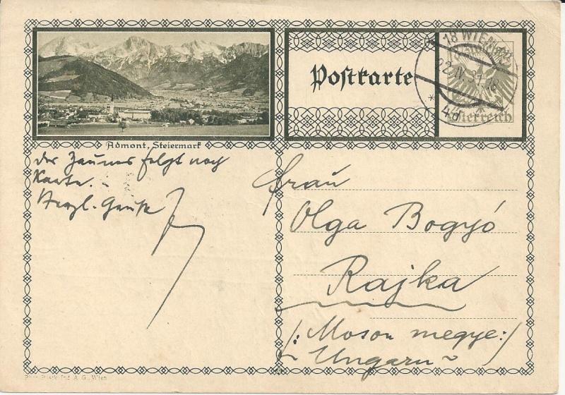 Bedarfspost Ganzsachen Österreich 1925-1938 Bild_424