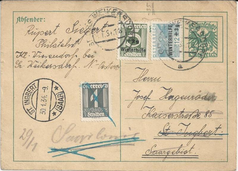 Bedarfspost Ganzsachen Österreich 1925-1938 Bild_433