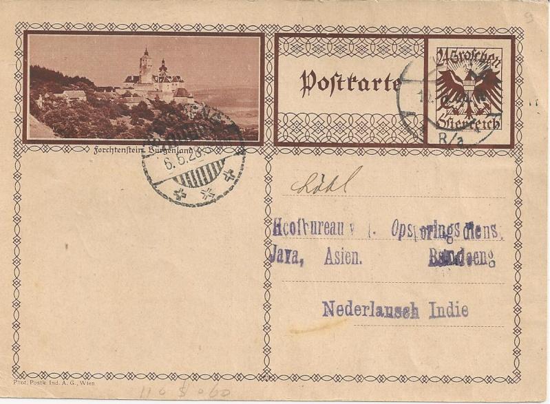 Bedarfspost Ganzsachen Österreich 1925-1938 Bild_615
