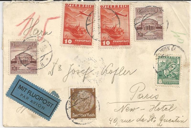 Österreich im III. Reich (Ostmark) Belege - Seite 5 Bild_621