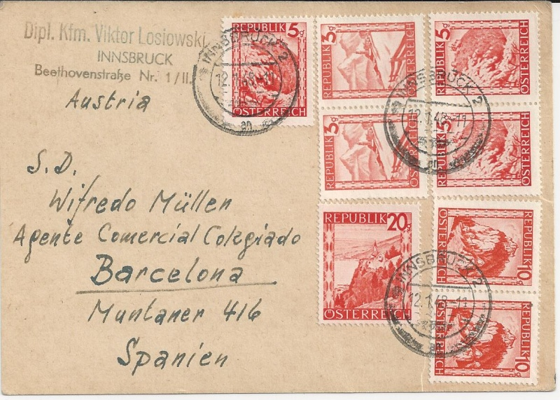 Notmaßnahmen und Provisorien bei Postkarten 1945-1948 Bild_712