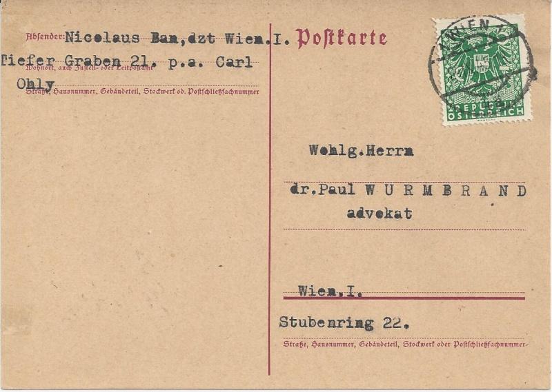 Notmaßnahmen und Provisorien bei Postkarten 1945-1948 Bild_715