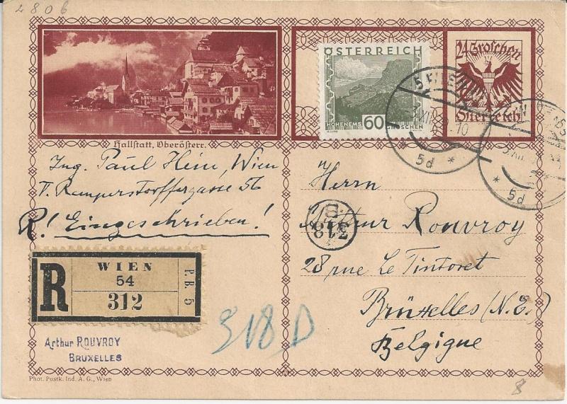 Bedarfspost Ganzsachen Österreich 1925-1938 Bild_811