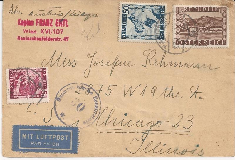 Notmaßnahmen und Provisorien bei Postkarten 1945-1948 Bild_812