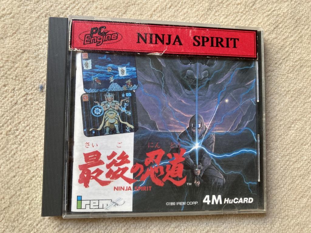 (VDS) PCENGINE (Ninja spirit + Psychic Storm) + SFC (Contra spirit) Img_1911