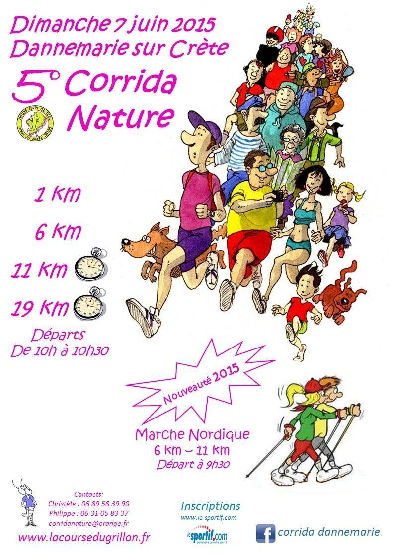 Corrida Nature 5e édition Affich10