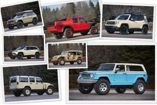 Jeep a dévoilé 7 nouveaux concepts. Captur17