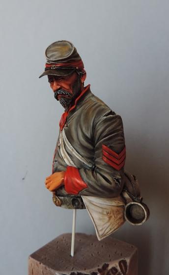 Le buste du 10th Tennessee Irish Brigade  - mise à jour du 7/04  par Gabriel FINI - Page 3 Dscn1410
