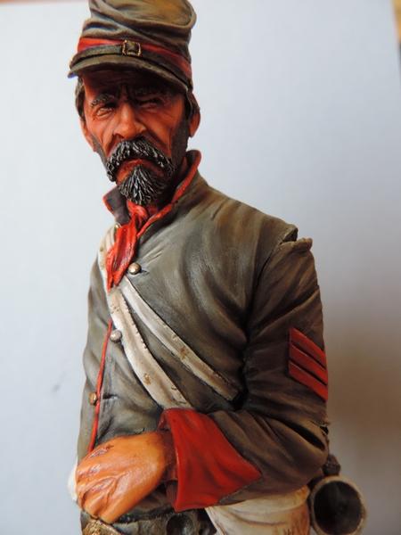 Le buste du 10th Tennessee Irish Brigade  - mise à jour du 7/04  par Gabriel FINI - Page 3 Dscn1412