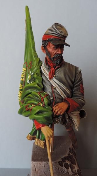 Le buste du 10th Tennessee Irish Brigade  - mise à jour du 7/04  par Gabriel FINI - Page 4 Dscn1413