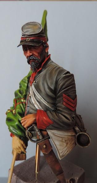 Le buste du 10th Tennessee Irish Brigade  - mise à jour du 7/04  par Gabriel FINI - Page 4 Dscn1416