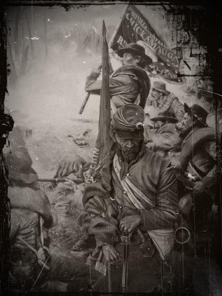 Le buste du 10th Tennessee Irish Brigade  - mise à jour du 7/04  par Gabriel FINI - Page 4 Dscn1431