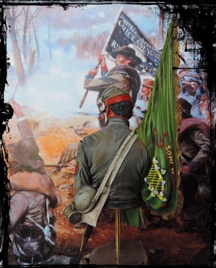Buste du 10th Tennessee Irish Brigade photos refaites!!!... Dscn1451