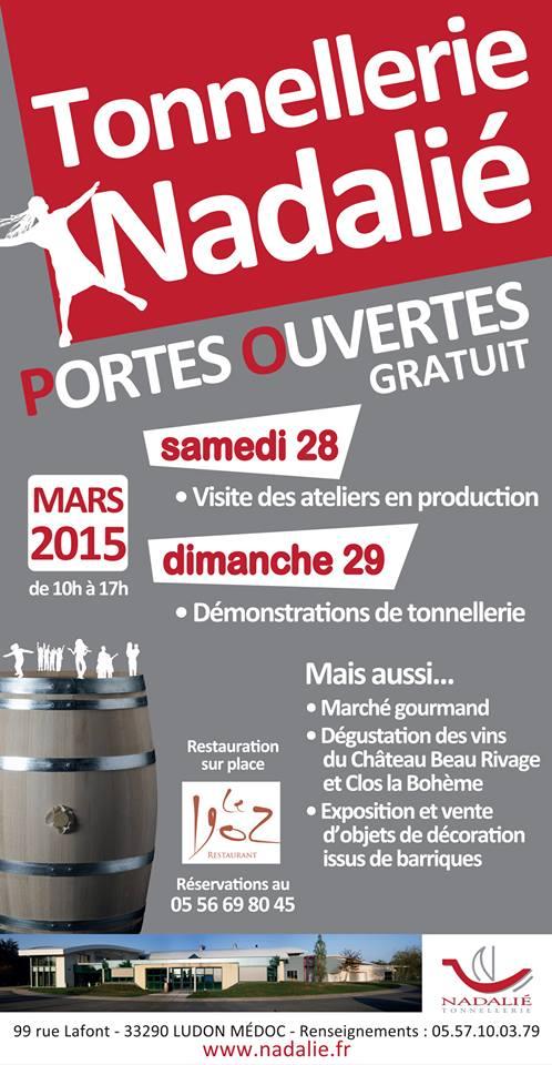 Printemps des Châteaux 2015 Visite des ateliers de la Tonnellerie NADALIE + Repas au Restaurant 1902 10363010