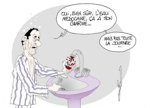 Les dessins humoristiques du Journal Sud Ouest sur l actualité du Médoc 10458410