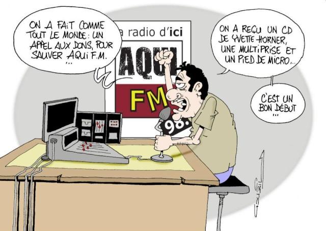 Les dessins humoristiques du Journal Sud Ouest sur l actualité du Médoc 11081411