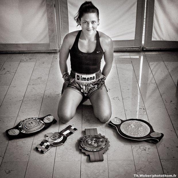 Sandra Sevilla, une légende de la boxe thaï passée par le Médoc 12402110