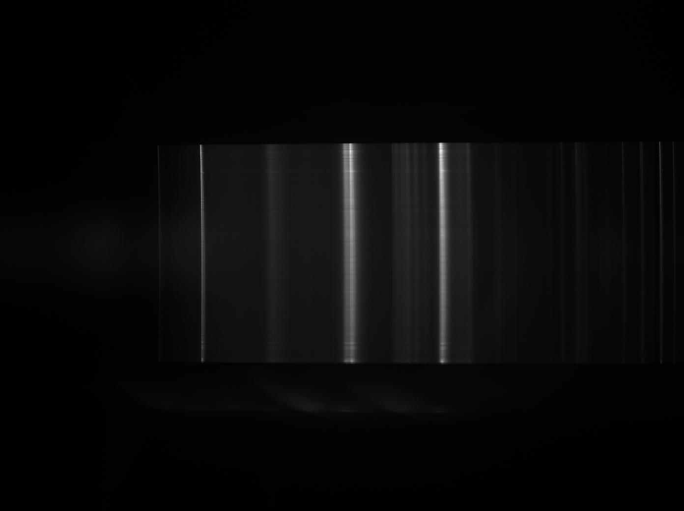 Premiers spectres avec le spectro Alpy Lampee10